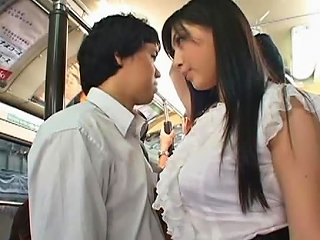 Cute Babe Saori Hara Gets Fucked On A Bus